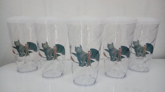 50 Pçs-copo Twister 550ml Personalizado Como Treinar Dragão