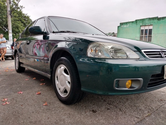 Honda Civic 1.6 Ex Aut. 4p 1999
