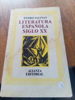 Litera Española Siglo Xx - Pedro Salinas