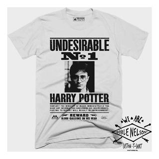Remera Hombre Doble Nelson Harry Potter Cine Saga Film