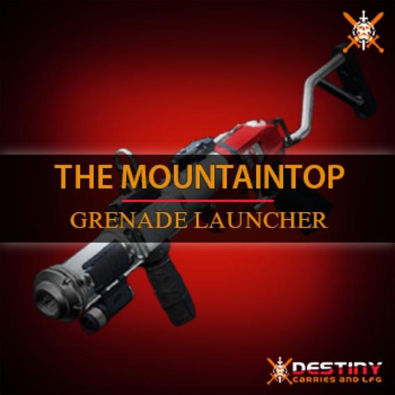 Destiny 2- Topo Da Montanha- Pc, Xbox One, Ps4