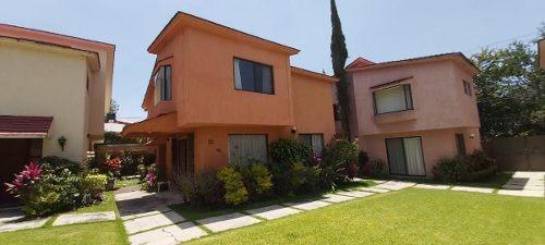 Casa En Condominio, Lomas De Cuernavaca, Temixco...clave 2906