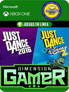 Just Dance 2016 & Disney Party 2 - Xbox One - Online/offline