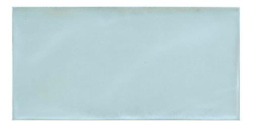 Porcellanato Ilva De Pared Charm Azul Brillante 20x50 1ra