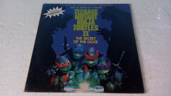 Lp Teenage Mutant Ninja Turtles Ii The Secret Of The Ooze