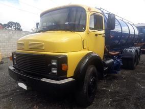 Caminhão Auto Vácuo Limpa Fossa Mercedes-benz Mb 1313