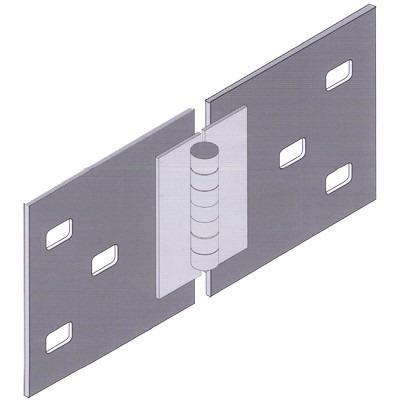 Conector Ajustable Vertical/horizonta 6 Orificios,1 Tornillo