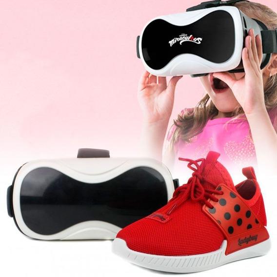 Tênis Ladybug Grendene Kids Com Óculos Realidade Virtual