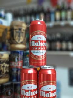Cerveza Mahou 5 Estrellas 500cc Importada España
