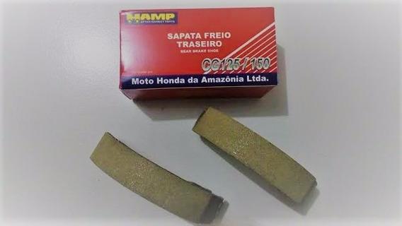 Sapata De Freio(lona)titan 125 00~/150 Ks/es Diant/tras Hamp