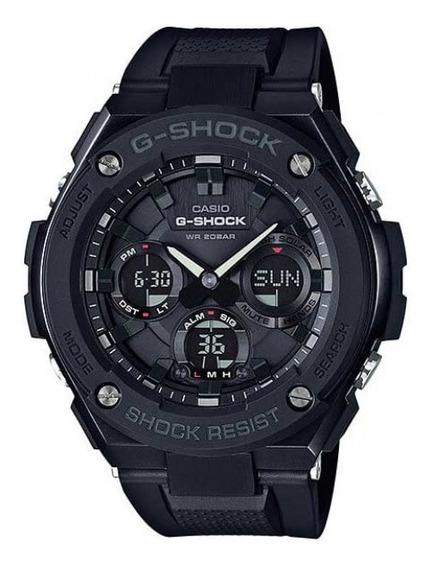 Relógio Casio G-shock Masculino Preto Gst-s100g-1bdr