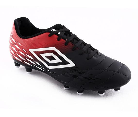 Botin Futbol Fifty Ii Cpo Ng/rj/bl Umbro Hombre