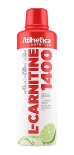 Atacado: 6x L-carnitina 1400 480ml - Athletica - Carnitine
