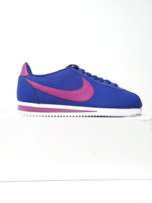 Tenis Nike Cortez Azul Feminino Casual N. 37,5 E 38