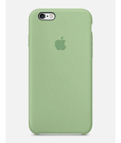 Capa Case Apple Silicone Para iPhone 7 8 - Verde