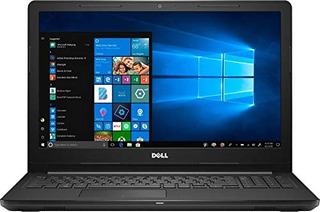 Laptop Dell Inspiron I3 8gb Ram 128gb Ssd Win 10 -negro
