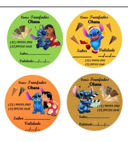 Imagem 1 de 5 de Adesivos Personalizados