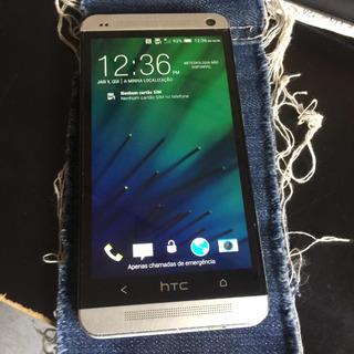 Htc One M7 32gb Beats Áudio Snapdragon Quad-core 1,7ghz Bom