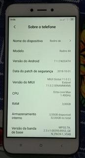 Xiaomi Mi Redmi 4x 32 Gigas 3 Ram