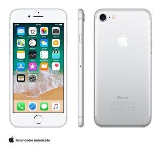 iPhone 7 Prata Tela 4,7 4g 32 Gb Câmera 12 Mp Mn8y2br/a