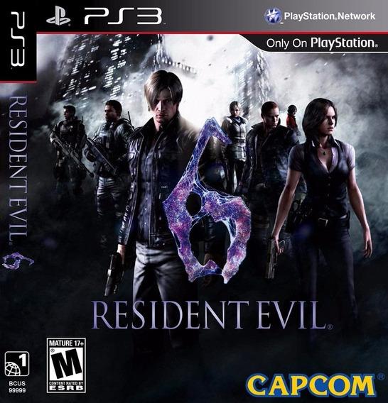 Resident Evil 6 Ultimate + Dlcs - Jogos Ps3 Playstation 3