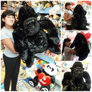 Gorila De Peluche Mono Gigante 138 Cm En L Hermoso Pelaje