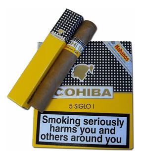 Siglo I Habanos Cohiba Para Fumar Cigarros Cubanos Caja X5