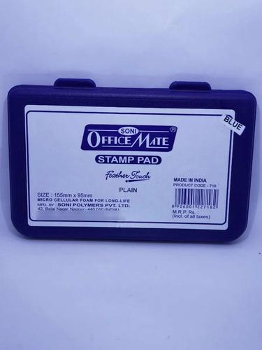 Almohadillas Para Sellos Entintados Negro O Azul 155x95mm