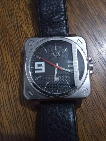 Relógio ArmaniPulseira Em Couro