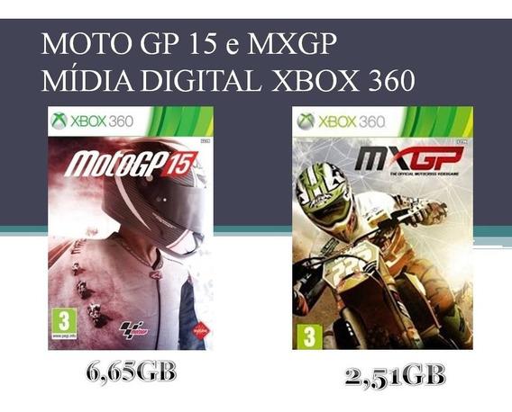 Moto Gp 15 E Mxgp Xbox 360 Mídia Digital