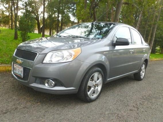 Chevrolet Aveo Ltz Automático, Mod. 2012, C. Gris Equipado