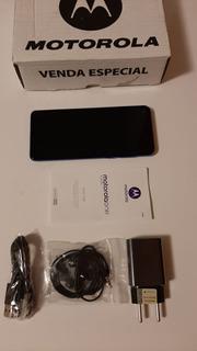 Smartphone Moto One Vision 128 4ram Zerado Sem Detalhes