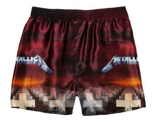 Cueca Samba Canção Rock #2 Metallica -