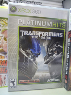 Juego Xbox 360 Transformers Platinum Hits Original Impecable