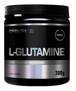 L- Glutamine 300g Probiótica - Envio Em 24hs Após Aprovação