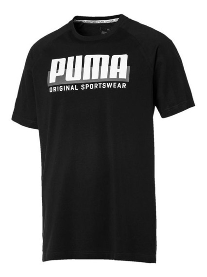 Oferta Playera Negra Cotton Black Original