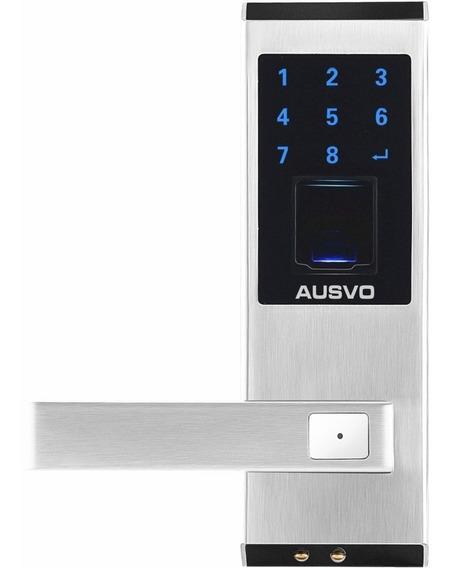 Cerradura Teclado Lector Biométrica Inteligente Ausvo M400