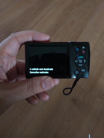 Câmera Usada Elph135 +cartão 8giga +bateria +carregador