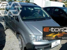 Sucata Fiat Idea 1.4 Elx Completa 2010 Flex