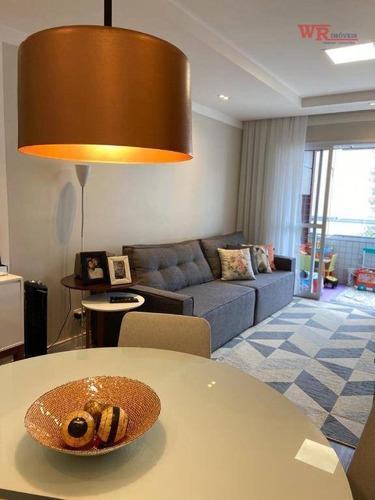 Imagem 1 de 19 de Apartamento À Venda, 88 M² Por R$ 580.000,00 - Centro - São Bernardo Do Campo/sp - Ap3310