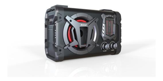 Caixa Amplificada Amvox Aca 90 Clock 45w Bluetooth