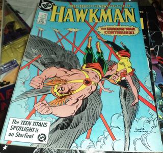 Gaviao Negro Mulher Aguia Hawkman N# 1 Dc Comics Hq Anos 80