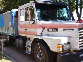 Scania T-112 310 1990 Con Salto 1999 Cerealero Oportunidad!!