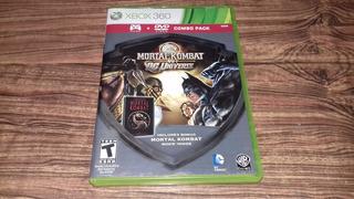 Mortal Combat Vs Dc Universe Para Xbox 360, Checalo!!
