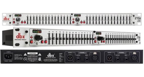 Ecualizador Dbx215s Nuevo
