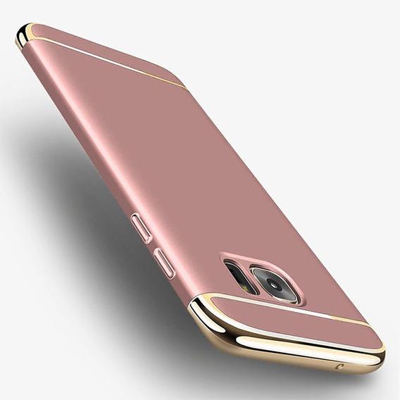 3 Em 1 Moda Ultra Slim Full Protectiv Gold Modelos: S9 Plus
