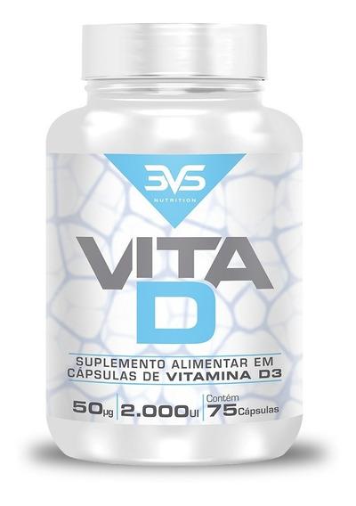 Vitamina D3 2000 Ui 75 Caps 3vs