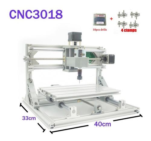 Imagen 1 de 9 de Cnc 3018 Maquina Para Pcb Corte Tallado Fresado