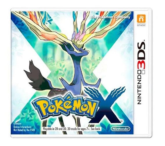 Pokémon X - Nintendo 3ds - Usado - Original