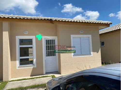 Imagem 1 de 7 de Casa Com 2 Dormitórios À Venda, 44 M² Por R$ 250.000 - Crispim - Pindamonhangaba/sp - Ca6167
